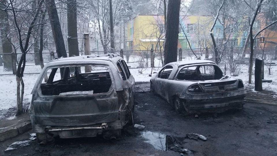 На Киевщине сожгли авто местного депутата