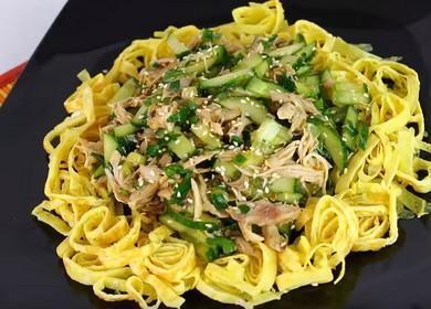 Як приготувати дуже смачний м'ясний салат без майонезу