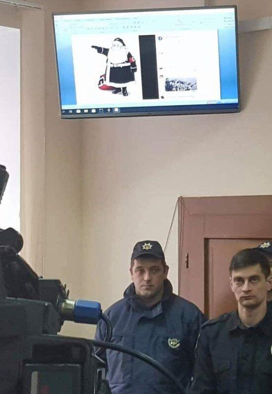 Знімки з засідання у справі вбивства Шеремета