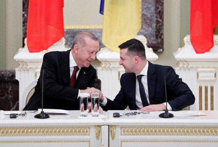 Ердоган і Зеленський