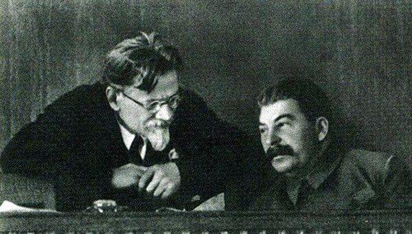 Калінін і Сталін