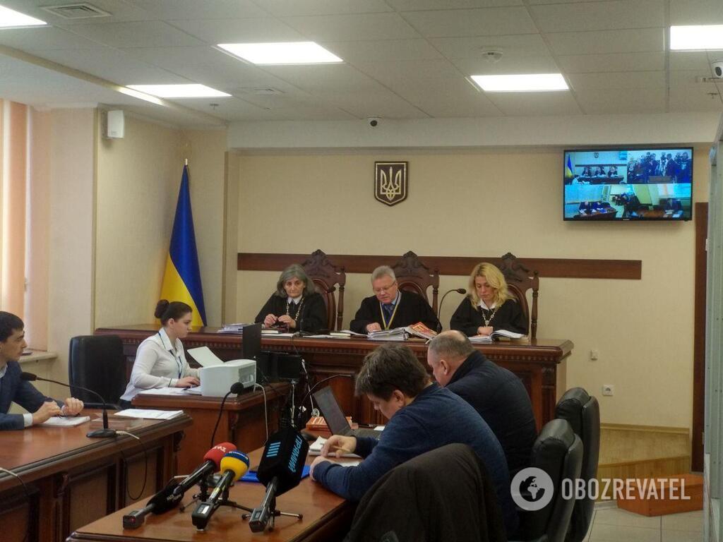 Заседание Киевского апелляционного суда 5 февраля