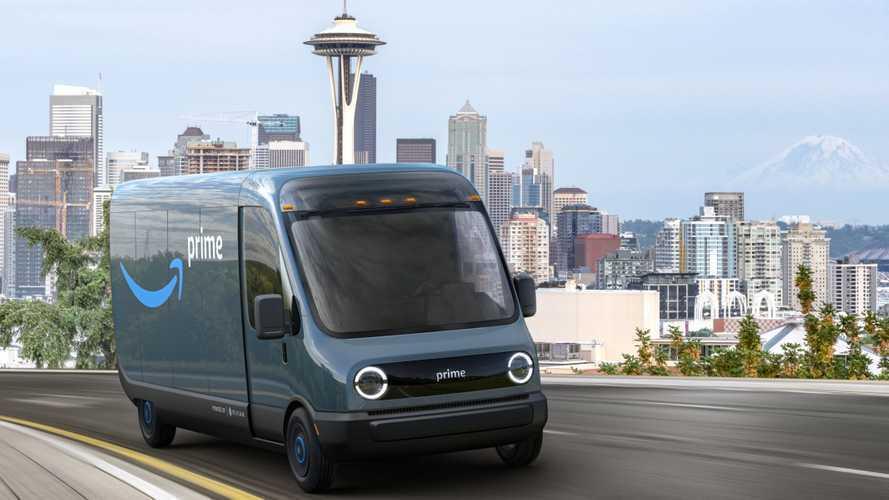 Rivian-Amazon Delivery Van