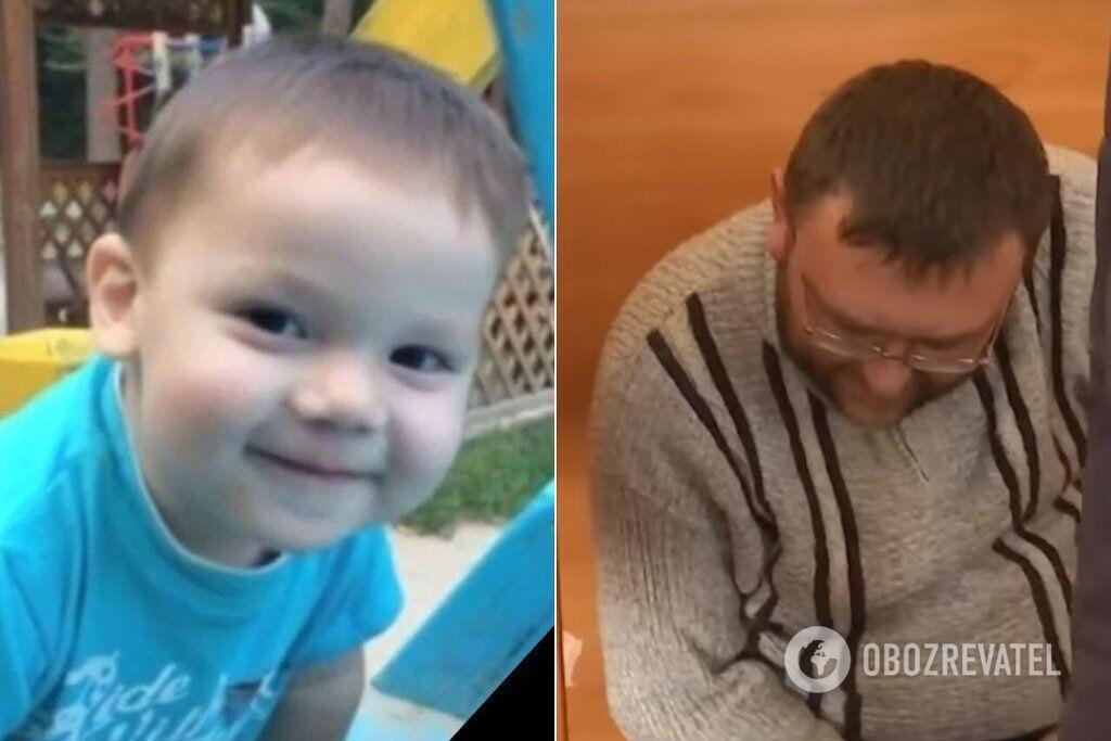 За убийство 2-летнего Димы Дьяченко осудили его отчима Александра Балакирева