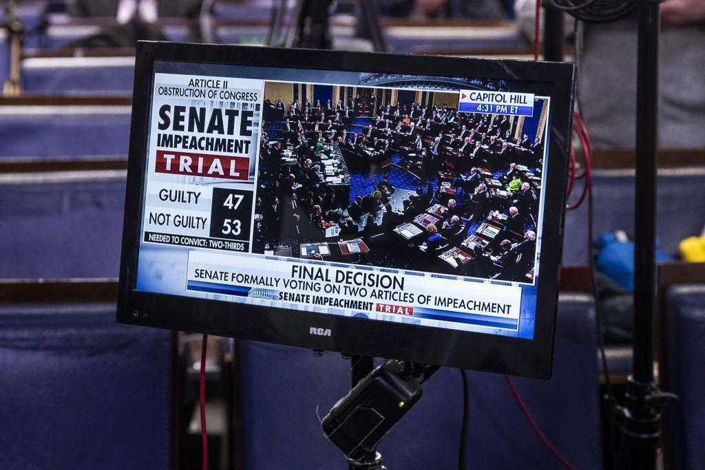 Голосование в Сенате США