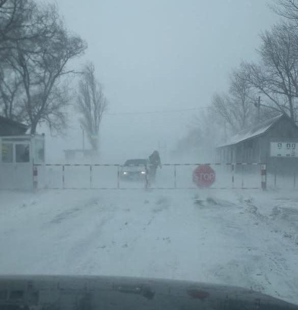 ЧП на границе Украина – Молдова