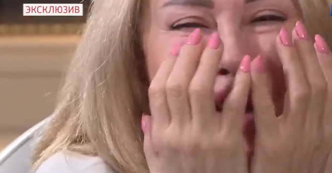 Малахов показав відео з розбитою горем Успенською