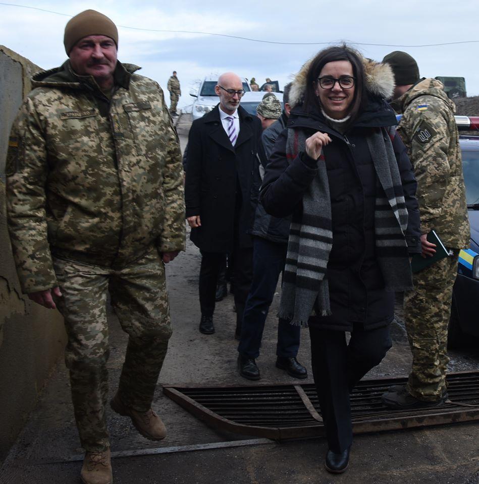 Командувач ООС зустрівся з канадською делегацією