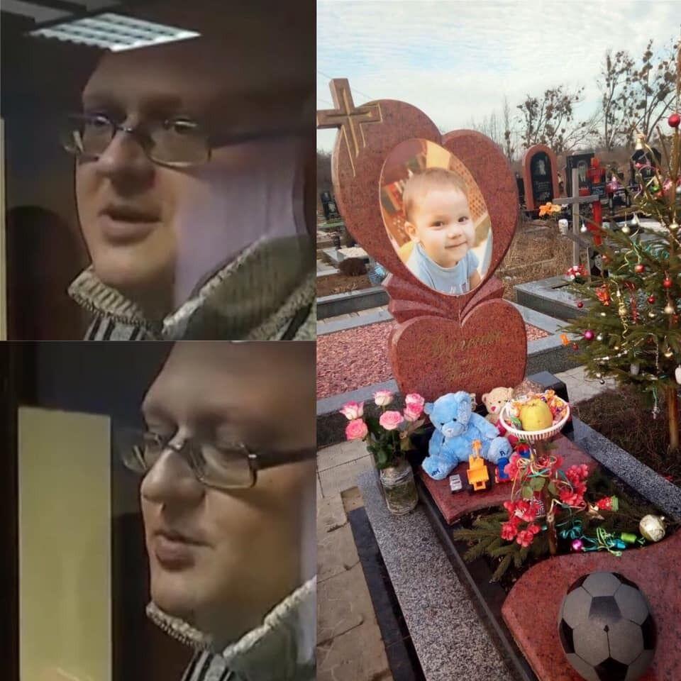 Олександр Балакірєв і загиблий Діма Д'яченка