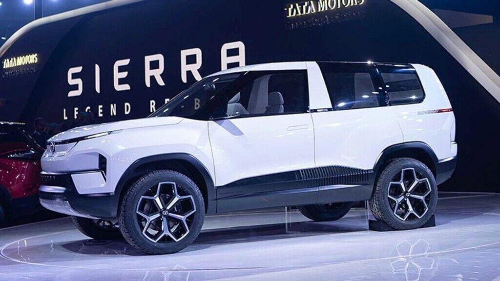 Электромобиль Tata Sierra