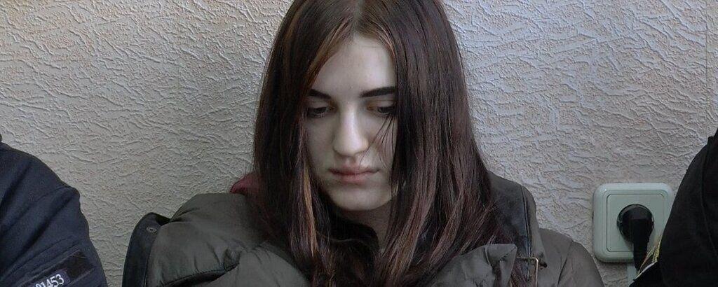Вероника Моторина на заседании суда