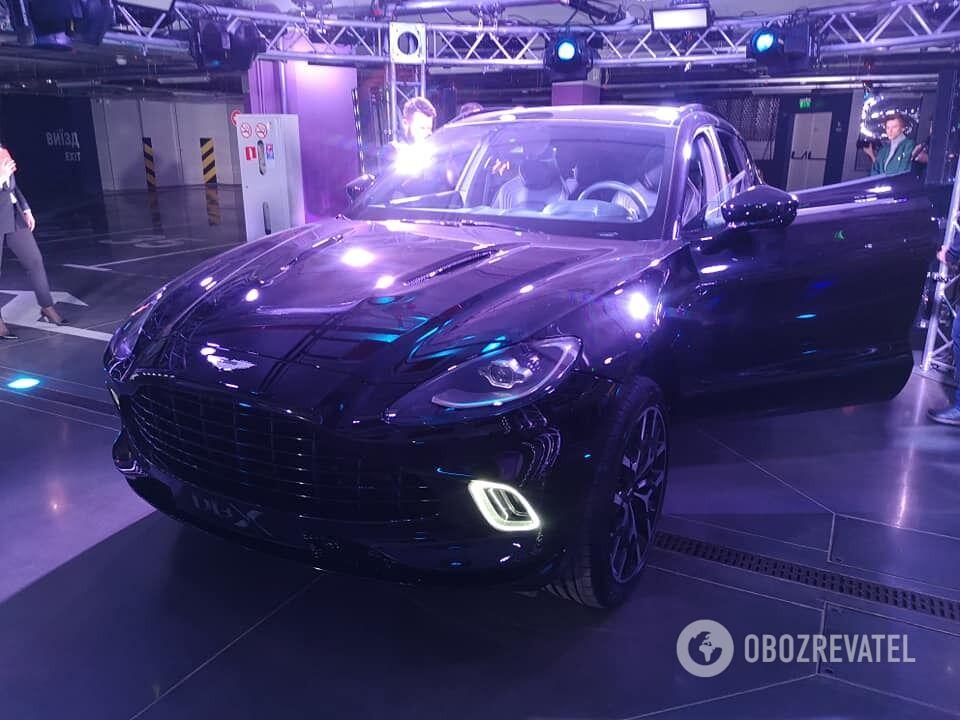 Aston Martin DBX – новейший кроссовер, который скоро появится на украинских дорогах