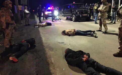 Затримання після перестрілки в Мукачевому