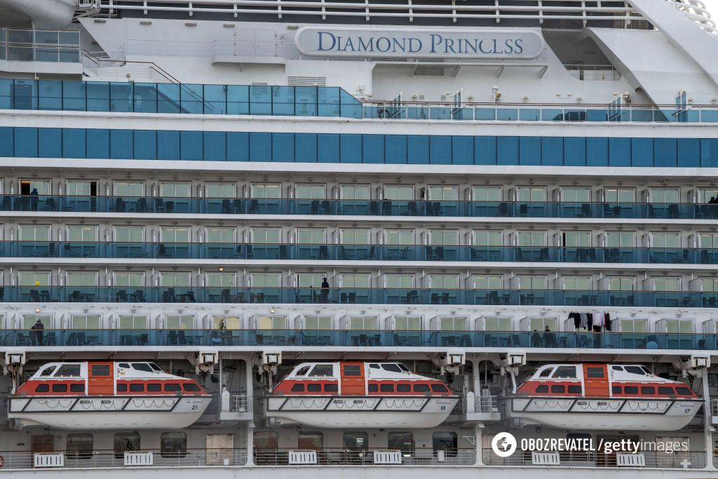 Diamond Princess на карантине