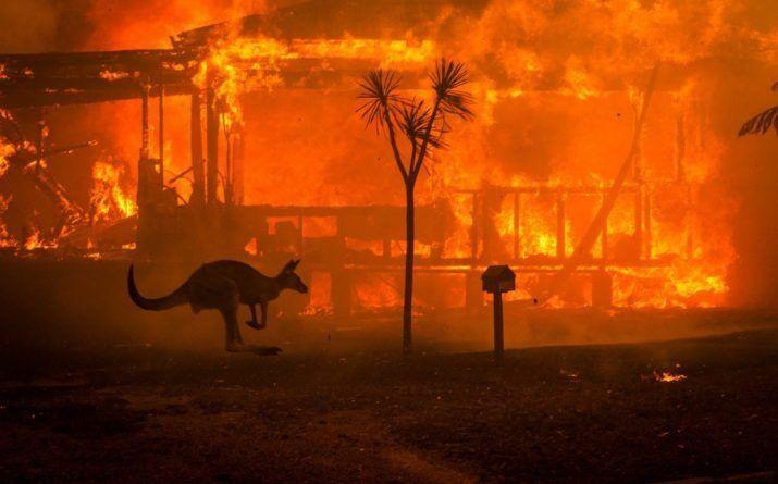 Пожары в Австралии изменят климат на всей Земле