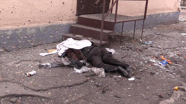 Жертвы обстрела Краматорска