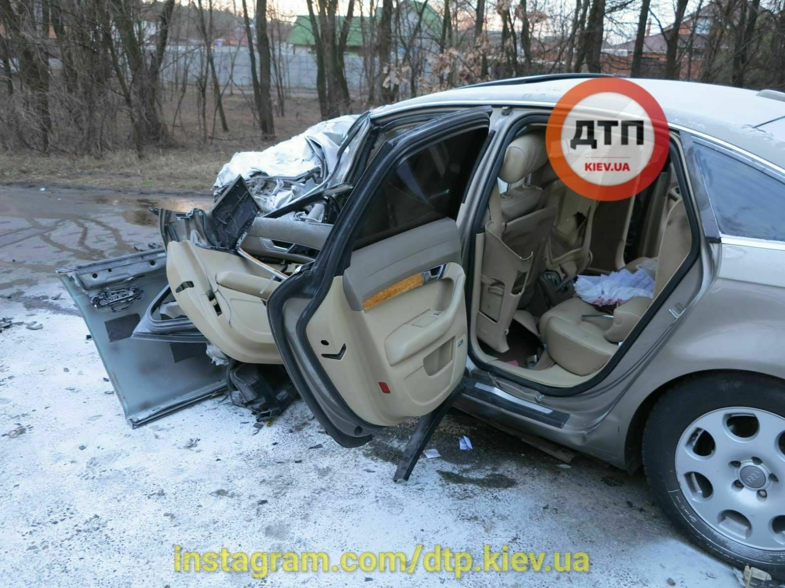 Под Киевом в жутком ДТП погиб священник