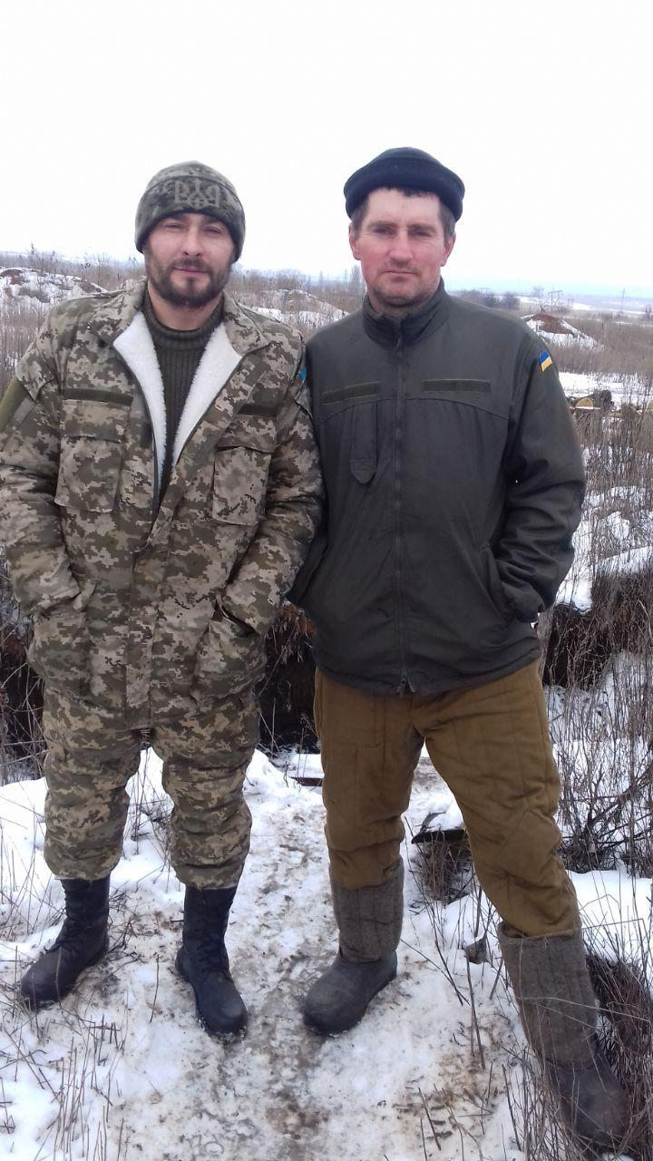 Федченко з побратимами