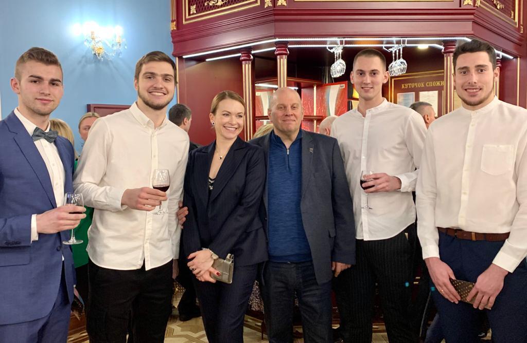 """Церемония вручения наград """"Спортивный Оскар-2019"""""""