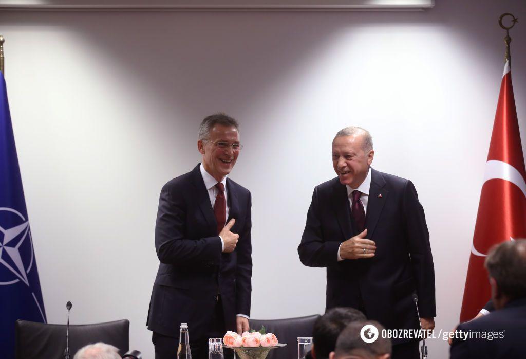 Столтенберг и Эрдоган