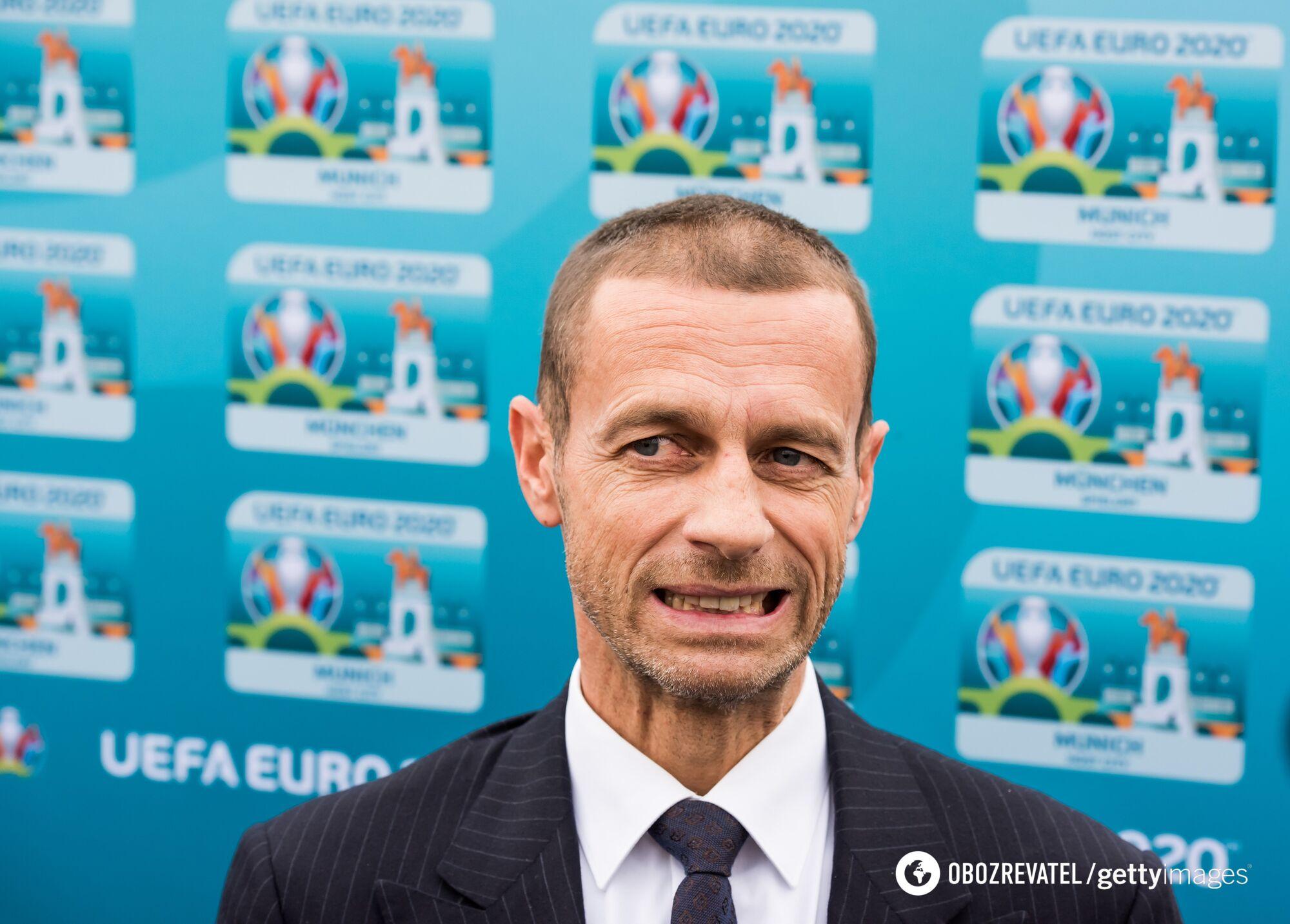 Похоже, президенту УЕФА Александру Чеферину вскоре придется принять тяжело решение...