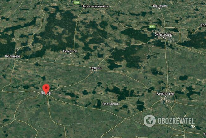 Аварія трапилася в Любарі Житомирської області