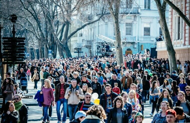 """Туристи на одеській """"Гуморині"""""""
