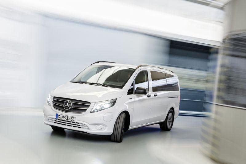 Электромобиль Mercedes-Benz eVito
