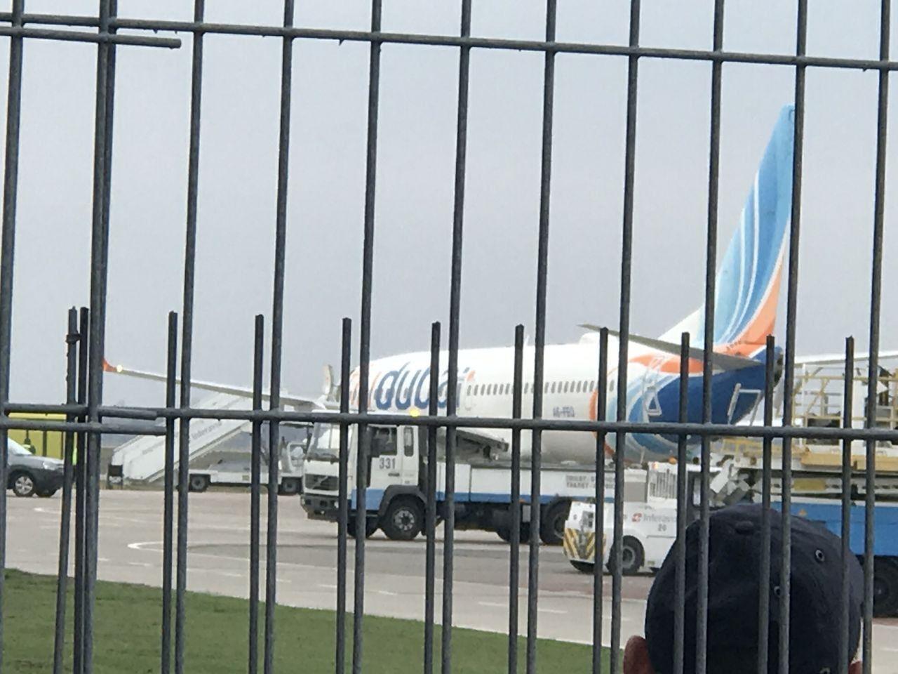 В Борисполь прибыл самолет с вероятно больным на коронавирус
