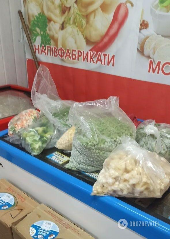Один из магазинов Киева