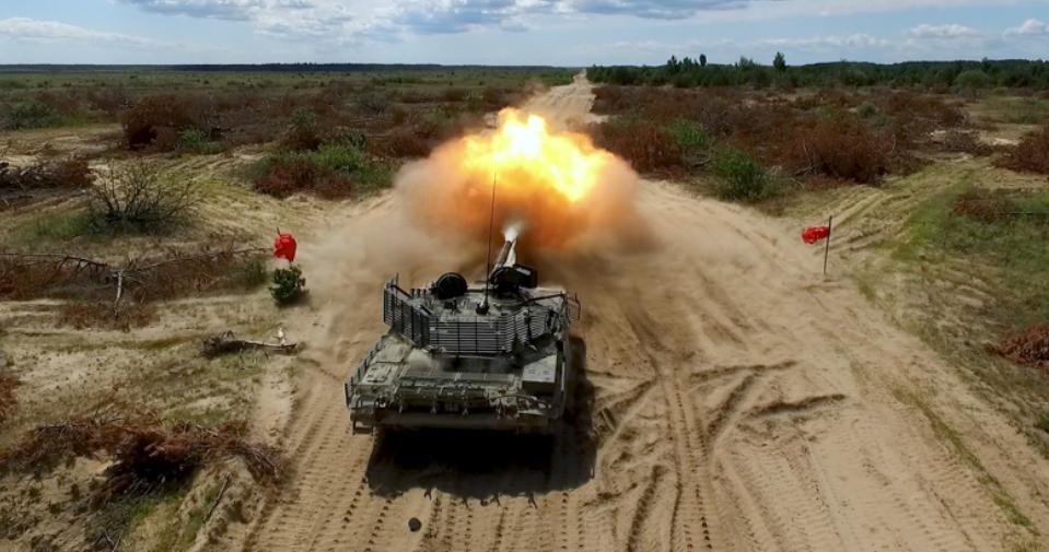 Испытания Т-72АМТ