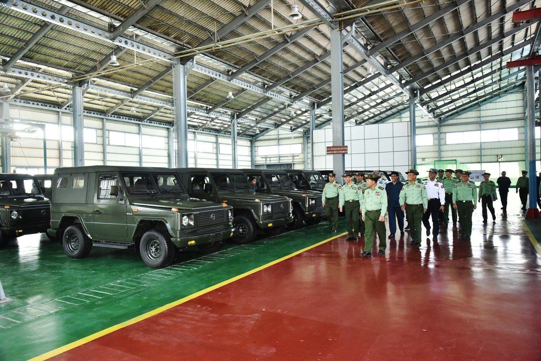 Каждый год на заводе Tatmadaw Heavy Industry планируют производить 1000 Inlay