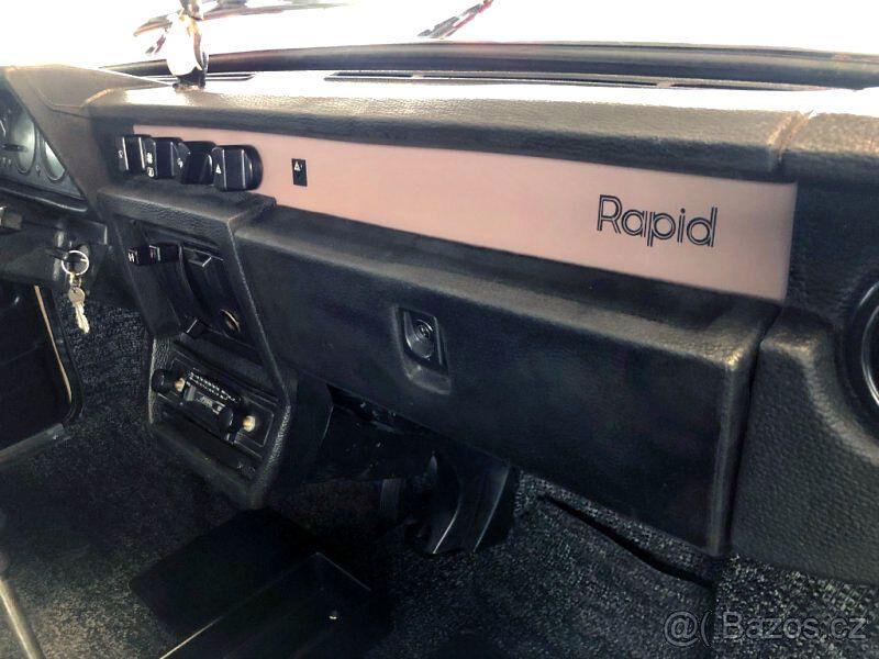 Skoda Rapid 1986 года