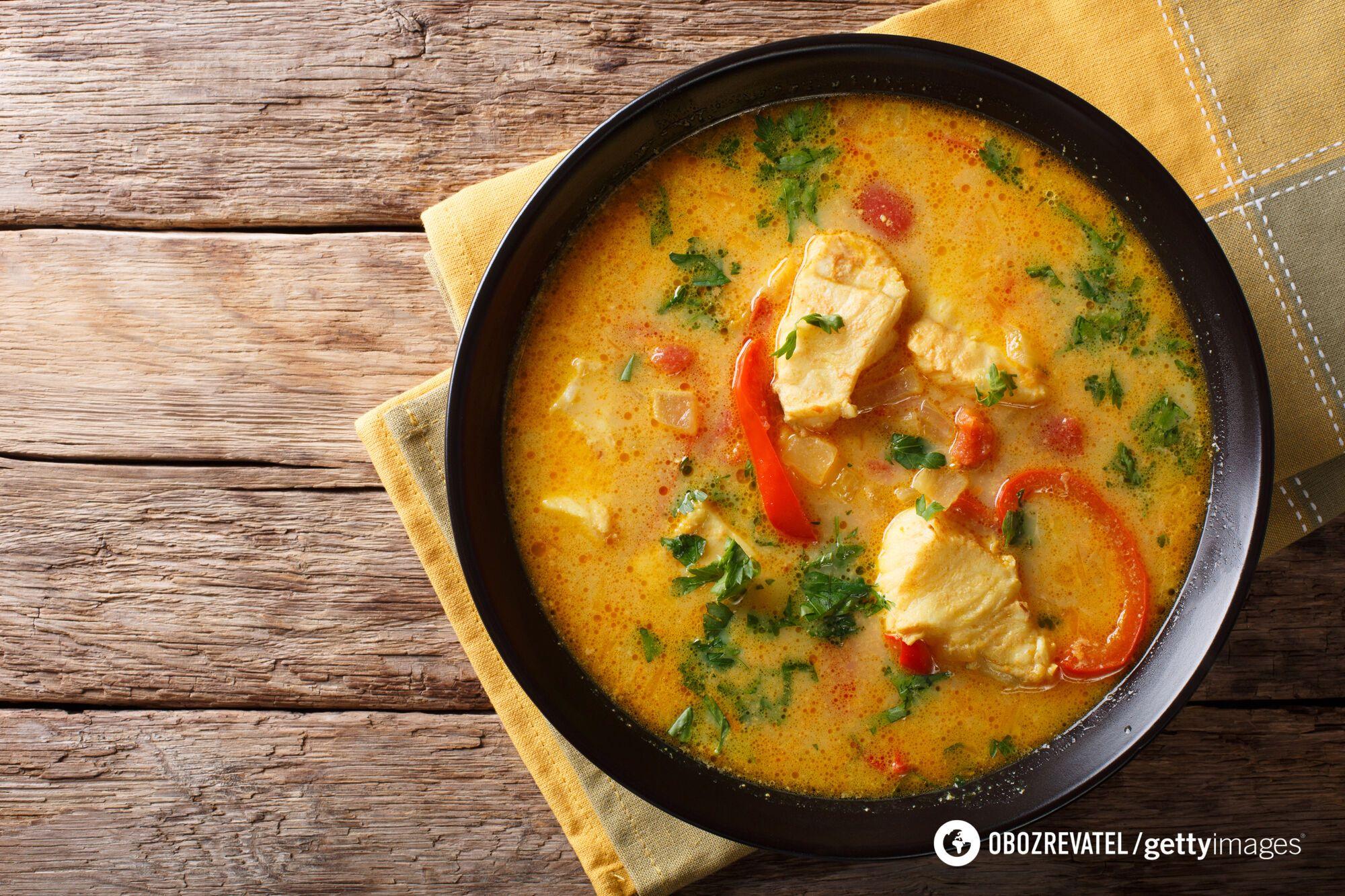 Традиційний для кухні Албанії рибний суп