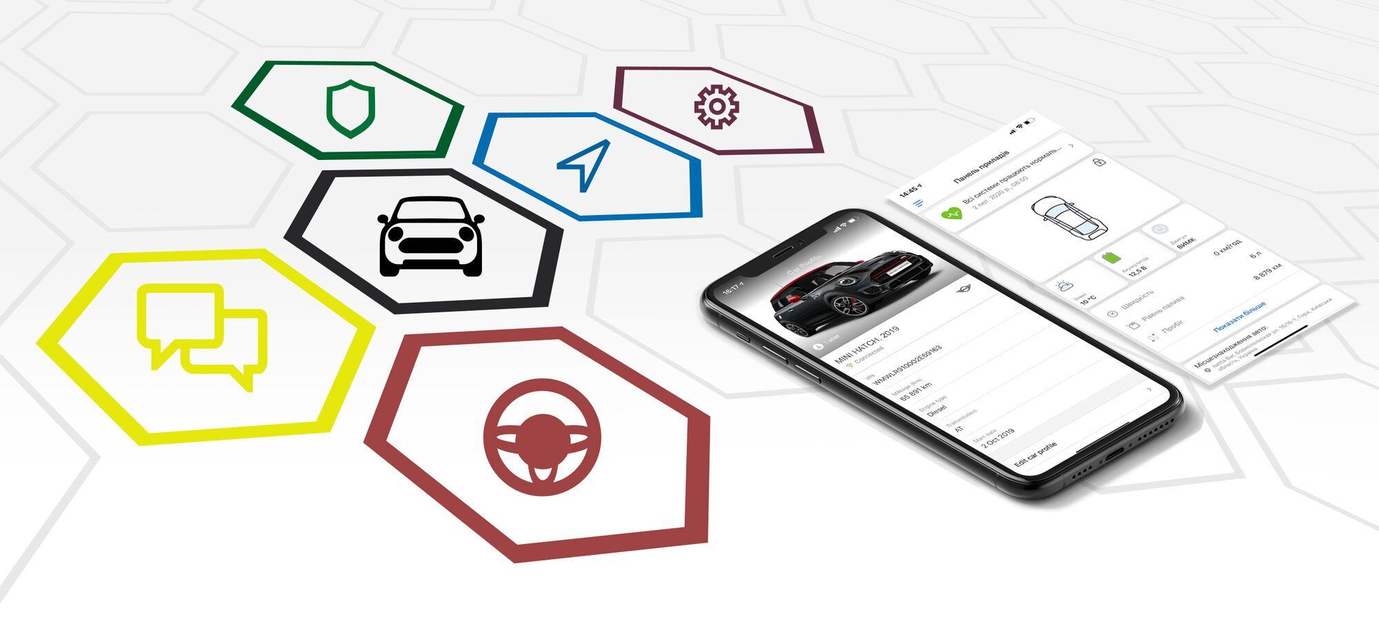 В Украине стали доступны приложения myBMW UA и myMINI UА