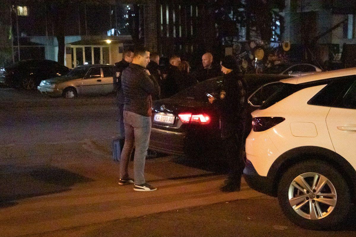 В Киеве женщина открыла стрельбу по бывшему мужу