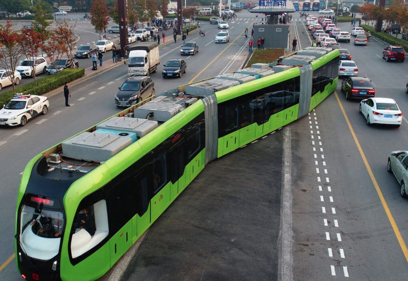 Безрейковий трамвай від компанії CRRC