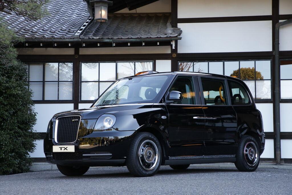 Знаменитое лондонское такси LEVC TX