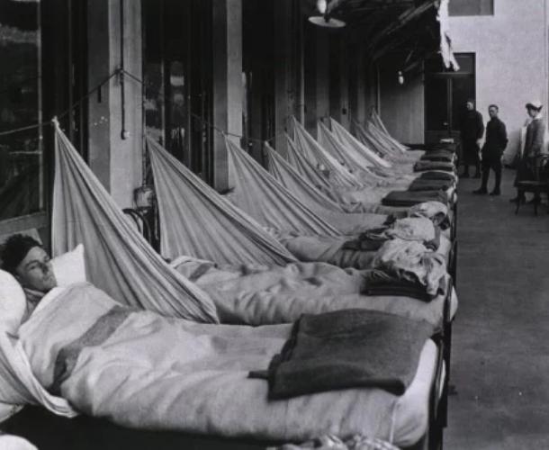 """Пандемія """"іспанського грипу"""""""