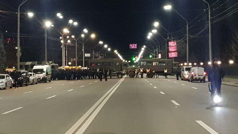 Как охраняли посольство РФ в Киеве