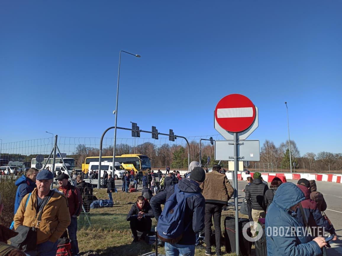 Ситуація на польському кордоні 15 березня