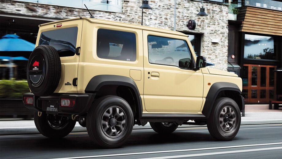 Благодаря рамной конструкции, кузов Сузуки Джимни легко модифицировать