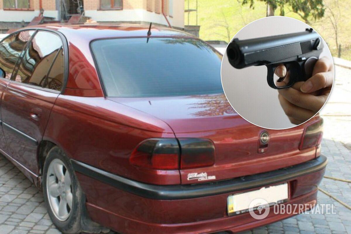 Поліція розшукує бордовий Opel (ілюстрація)