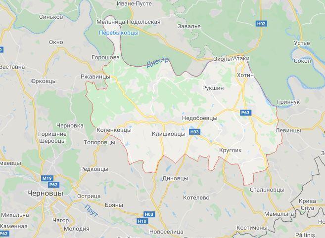 Хотинский район находится недалеко от Черновцов