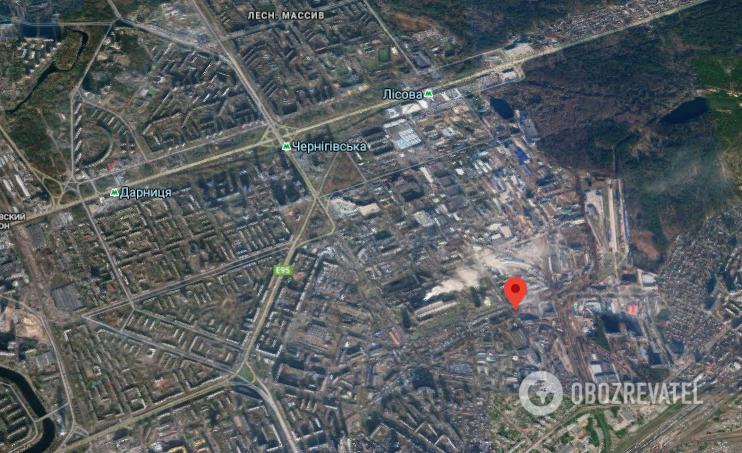Стрілянина трапилася у Дніпровському районі Києва