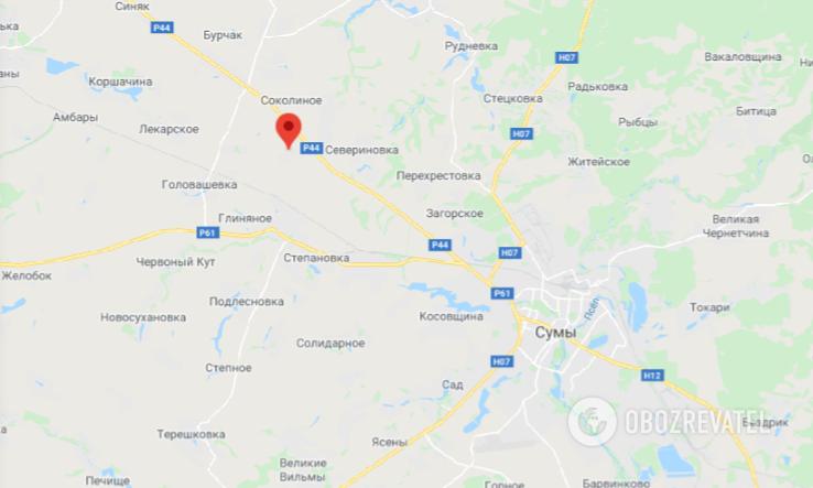 ДТП в Сумській області