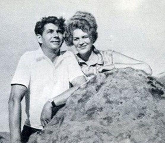 Лина Костенко и ее второй муж Василий Цвиркунов