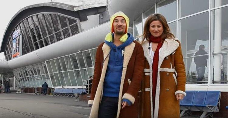 "Жанна Бадоева и Алан Бадоев в шоу ""Орел и решка"""