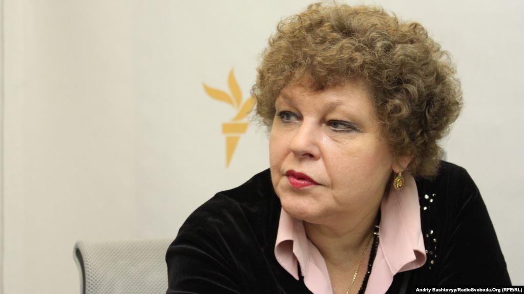 Дочь Лины Костенко Оксана Пахлевская