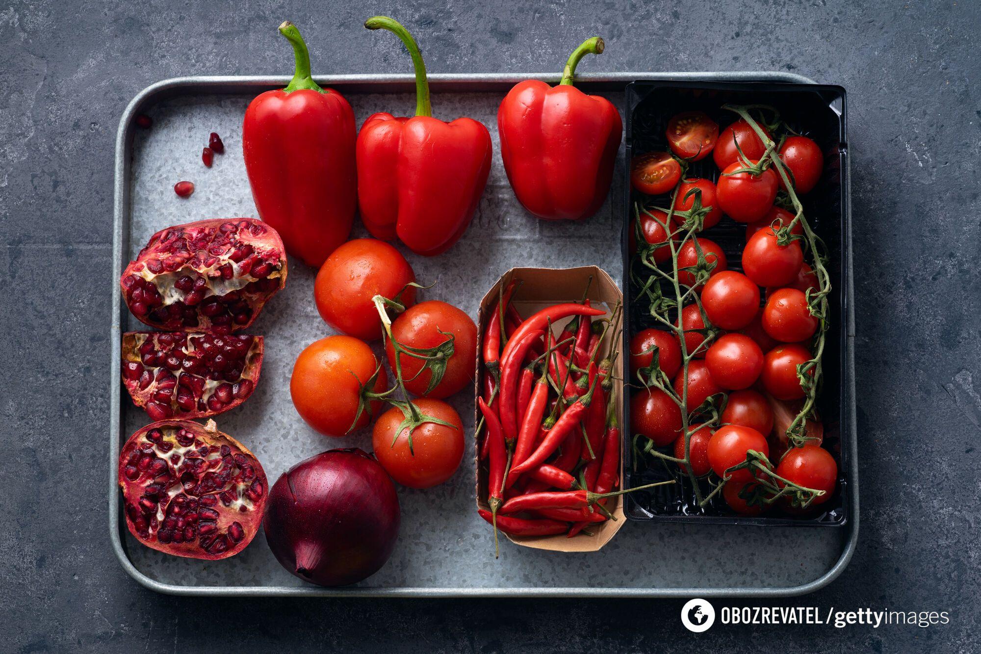Червоні і багряні плоди – важлива частина меню під час карантину